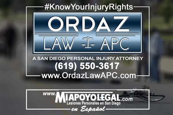 bicycle accident attorney, Ordaz Law, APC