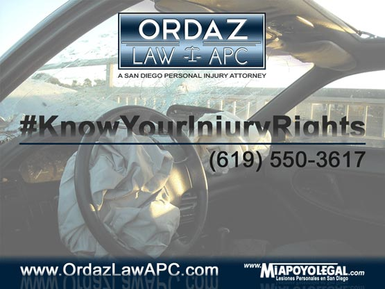 Car Accident Lawyer, Ordaz Law, APC