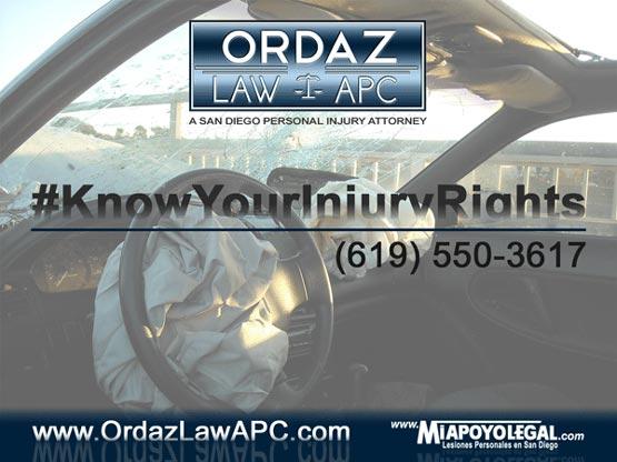 Car Accident Lawyer, Ordaz Law, APC
