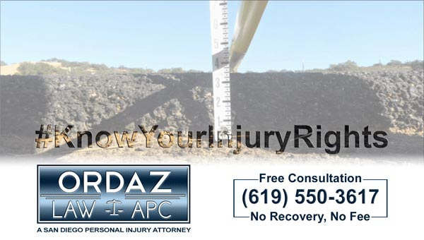 pavement edge drop-off, Ordaz Law, APC