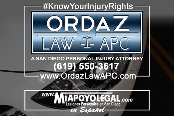 pedestrian accident attorney, Ordaz Law, APC