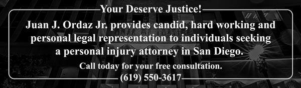 Personal Injury Attorney, Ordaz Law, APC