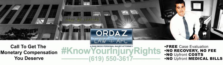 Insurance in Personal Injury Trials, Ordaz Law, APC