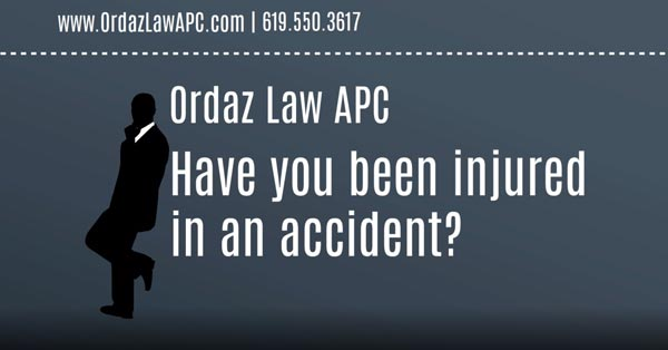 Personal Injury, Ordaz Law, APC